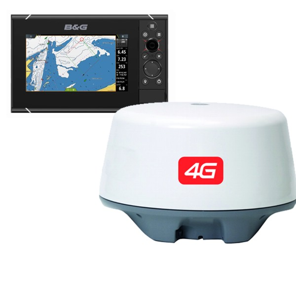 B&G ZEUS³ 7 Inch Multi-function Display With 4G Radar Bundle & World Wide Base Map