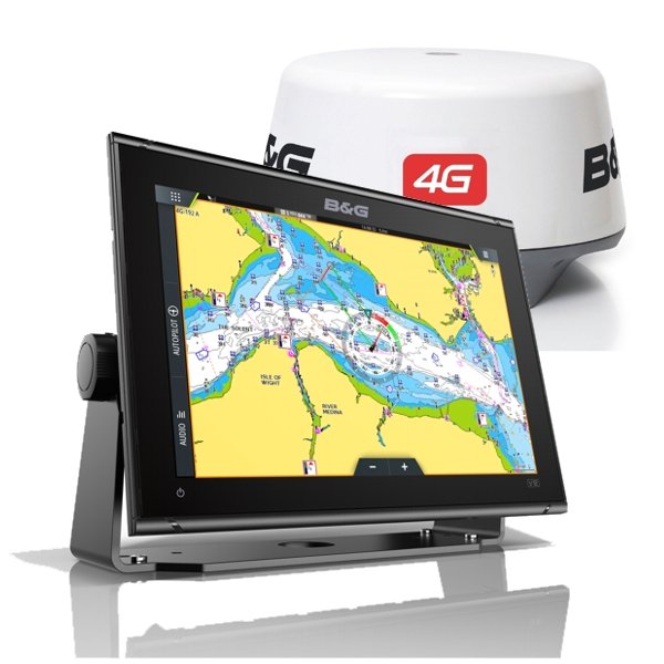 B&G Vulcan 12 Display With 4G Radar Scanner