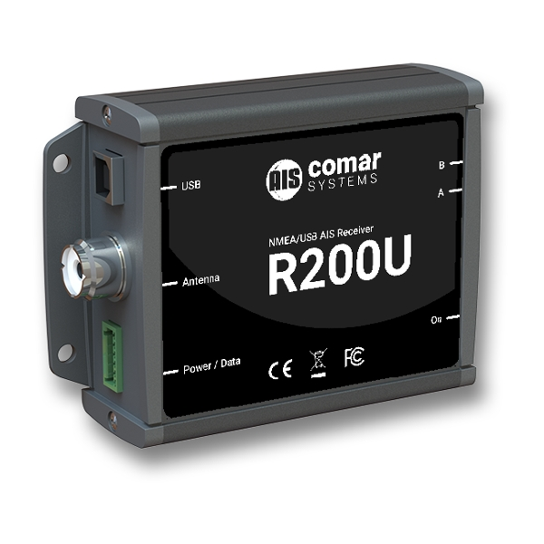 Comar R200U Dual Channel AIS Receiver with NMEA0183 and USB Output
