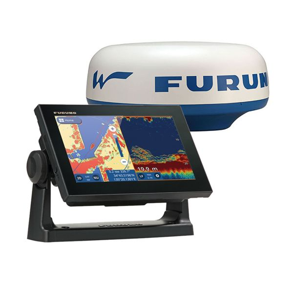 Furuno GP-1971F 7 Inch Plotter / Sounder With DRS4W Wifi Radar