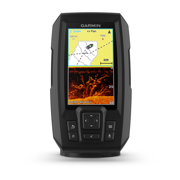 Garmin Striker PLUS 4cv Fishfinder with ClearVu TM Transducer (GT20-TM)