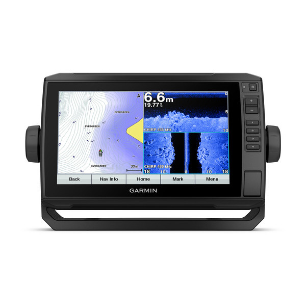 Garmin Echomap PLUS 95sv Combi (SideVu) Display With UK Charts (No Transducer) - B-STOCK