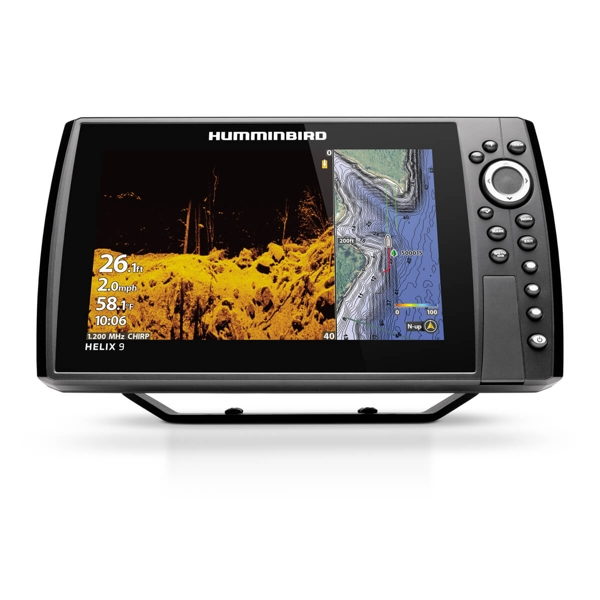 Humminbird HELIX 9 Chirp MDI+ GPS G3N Including Transducer