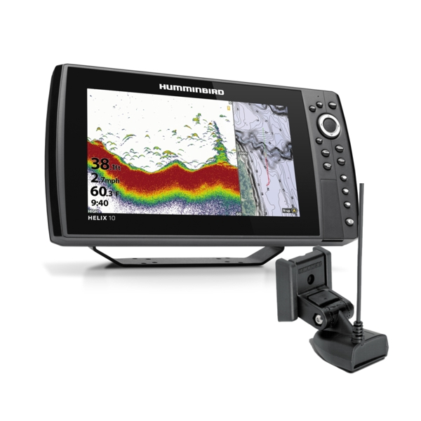 Humminbird Helix 10 CHIRP DS GPS G3N Including Transducer