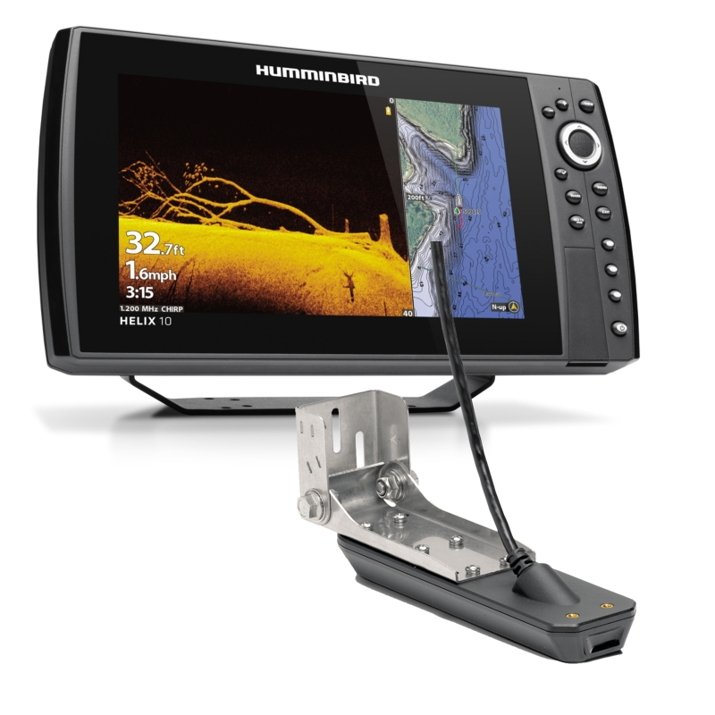 Humminbird Helix10 CHIRP MDI+ GPS G3N Including Transducer