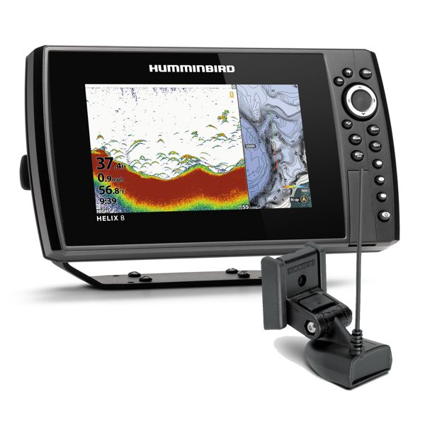 Humminbird Helix 8 Chirp GPS 4GN With Transducer