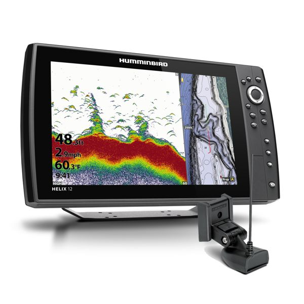 Humminbird Helix 12 Chirp GPS 4GN With Transducer
