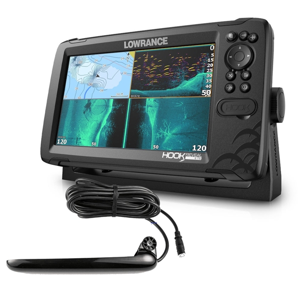 Lowrance Hook Reveal 9 With Tripleshot Transducer
