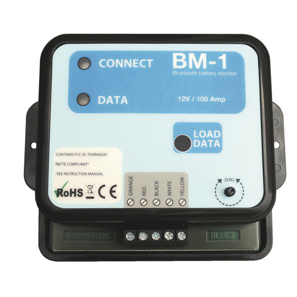 Nasa BM1 (BT) Bluetooth 12v Battery Monitor