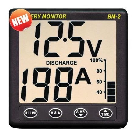 Nasa Clipper BM-2 Battery Monitor 12V