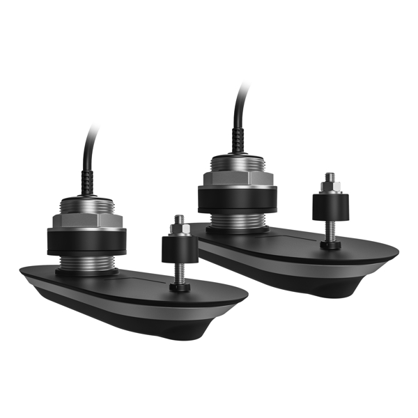 Raymarine RV-412 SS Through Hull Transducer Pair- 12 Degree