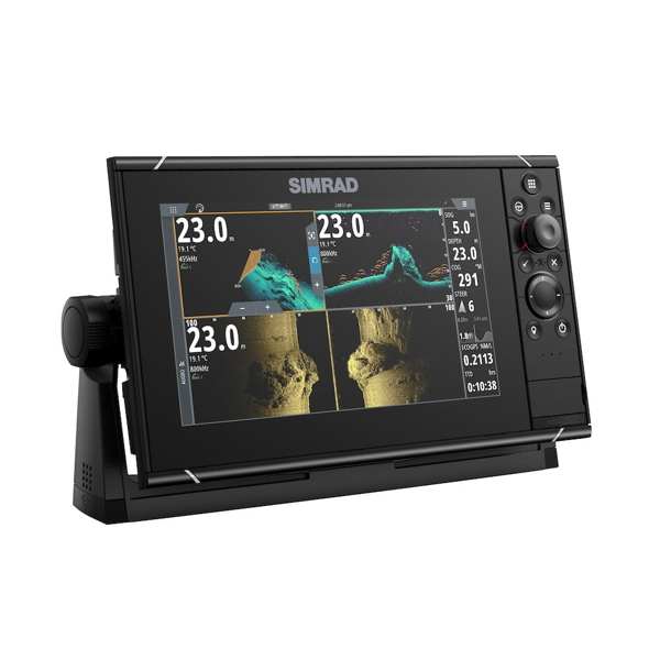 Simrad NSS9 evo3s 9 Inch Multi Function Display With World Base Map