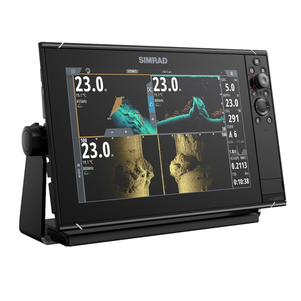 Simrad NSS12 evo3s 12 Inch Multi Function Display With World Base Map