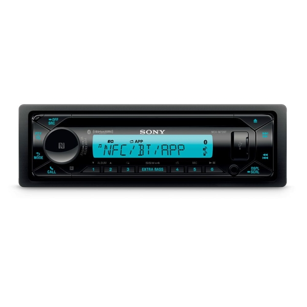 Sony MEX-M72BT Marine CD Receiver with Bluetooth