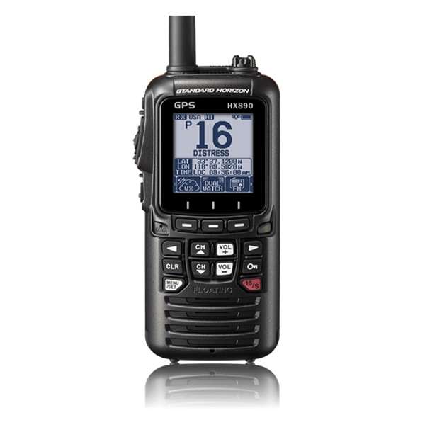 Standard Horizon HX890E Class H DSC Handheld VHF With GPS - Black