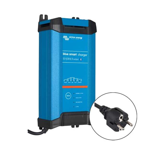 Victron Blue Smart IP22 Charger 12v/30a (3 outputs) Euro Plug
