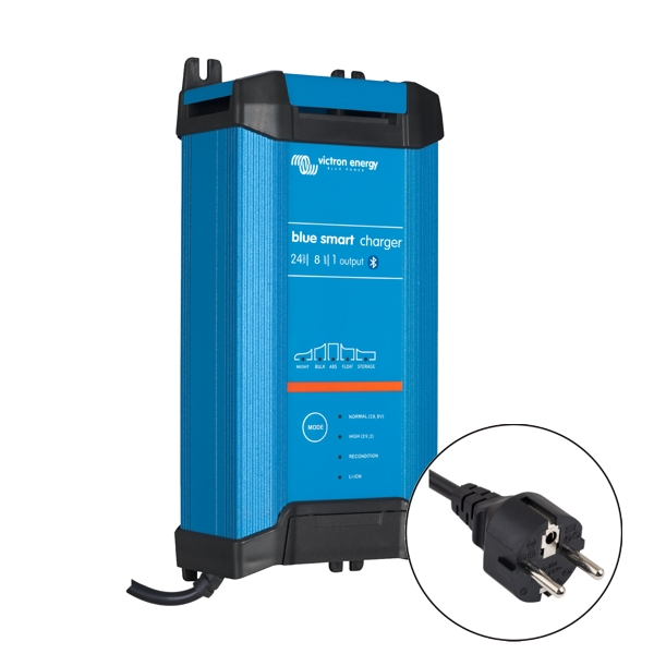 Victron Blue Smart IP22 Charger 24v/8a (1 output) Euro Plug