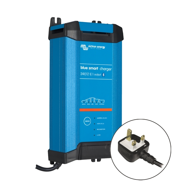 Victron Blue Smart IP22 Charger 24v/12a (1 output) UK Plug