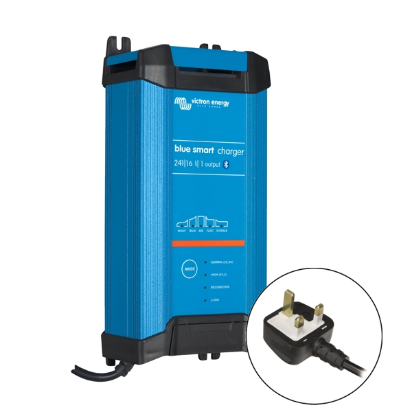Victron Blue Smart IP22 Charger 24v/16a (1 output) UK Plug
