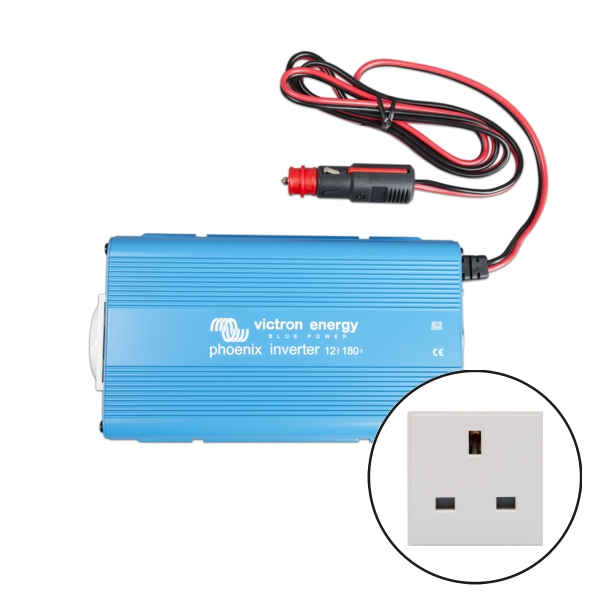 Victron Phoenix Sine Wave Inverter 24v 180VA - UK Socket