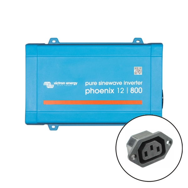 Victron Phoenix Sine Wave Inverter 12V 800VA VE.Direct - IEC Socket